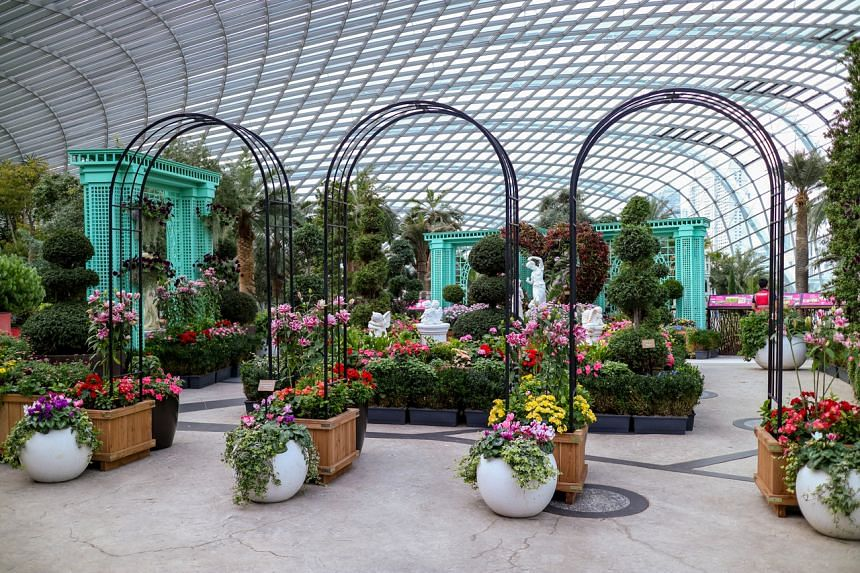 """Gardens by the Bay's """"A Bit of England"""" wraps up the Pocket Gardens Surprise series."""