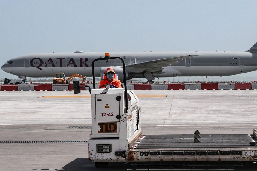 """Qatar said on Wednesday it """"regrets any distress"""" over the incident that occurred at Doha airport."""