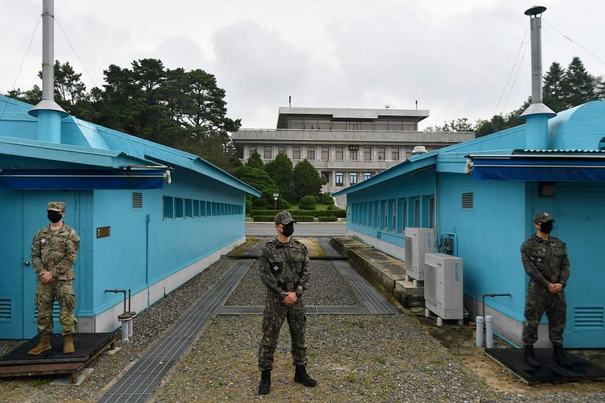 The US troops in South Korea are intended to provide a frontline defence against North Korea and potentially China.