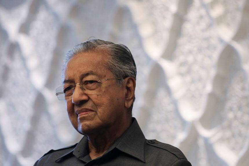 Dr Mahathir said he believed in freedom of expression but that it should not be used to insult others.