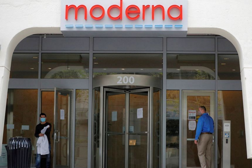 Moderna said infection rates in the trial were on track with expectations.