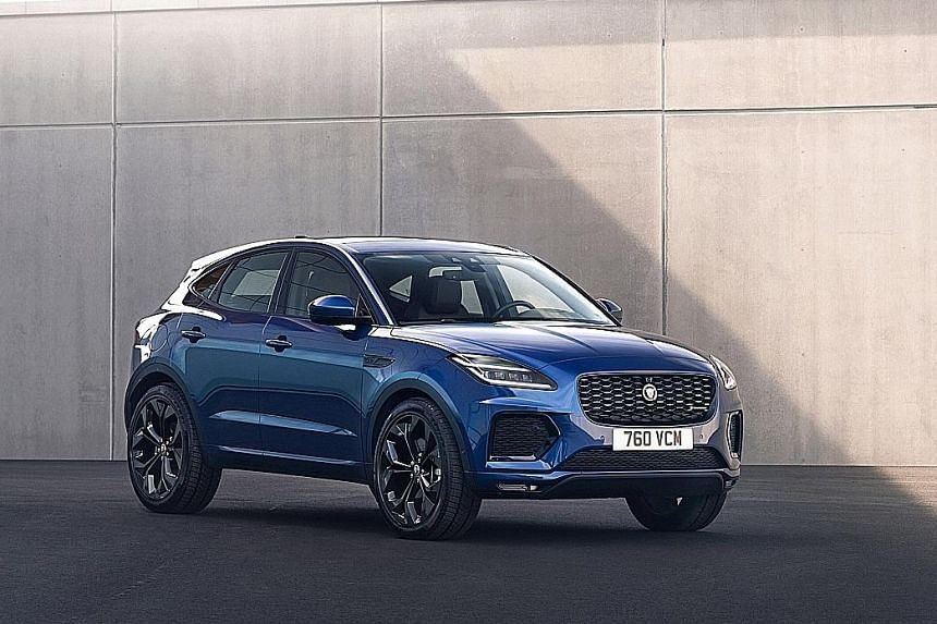 The refreshed Jaguar E-Pace.