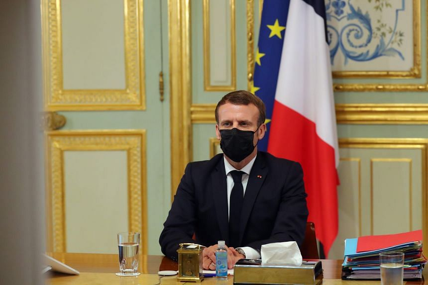 France S President Macron Says He Understands Muslim Feelings On Prophet Image Europe News Top Stories The Straits Times