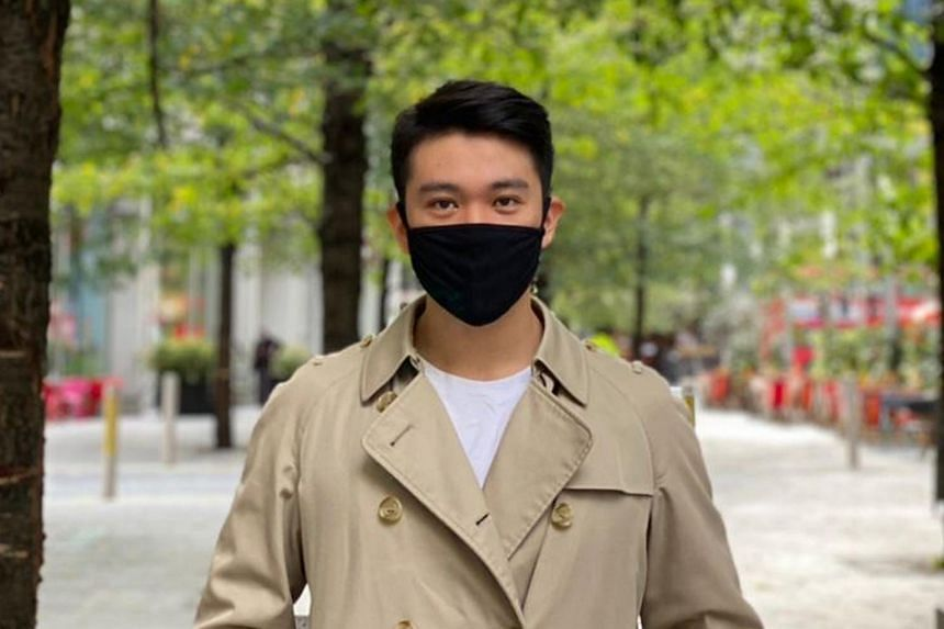 First year London School of Economics undergraduate Shaun Ang returned to London in September when the school term began.