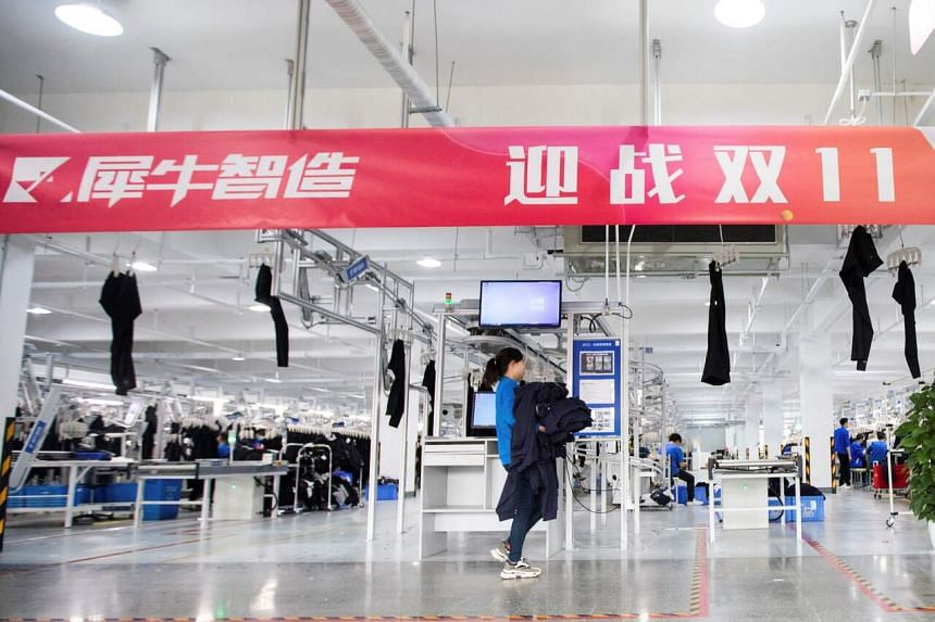 China's largest corporation unveiled in September its first smart factory.