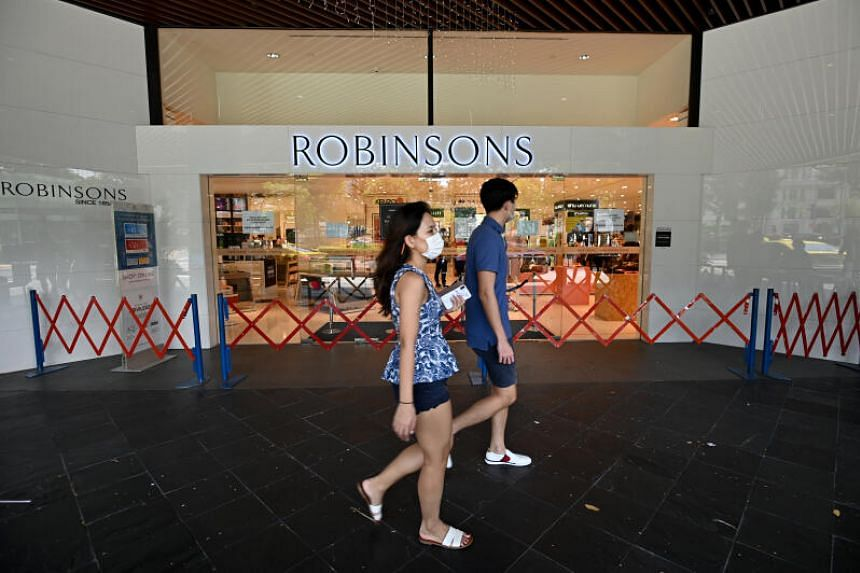 Robinsons had announced on Oct 30, 2020, that it would close its last two department stores in Singapore.