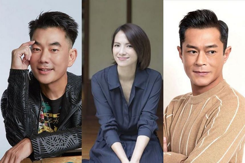 Taiwanese actress Shu Qi, (from left) Taiwanese singer Richie Jen, Malaysian actress Lee Sinje and Hong Kong actor Louis Koo are celebrities popular with airline staff, according to a former Cathay Pacific air stewardess.