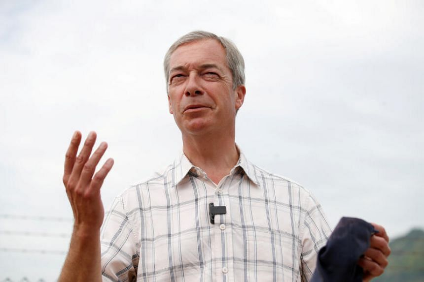 Mr Nigel Farage said ordinary people should not be criminalised for trying to live normal lives.