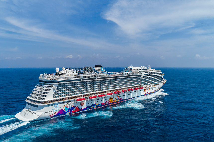 World Dream offers a world-class experience this holiday season. PHOTO: DREAM CRUISES