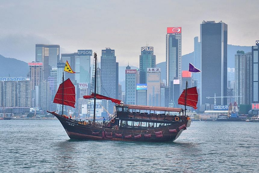A beloved symbol of Hong Kong, the junk boat (main picture and above) is now used almost exclusively for pleasure and relaxation. These days, the vessel usually sports three masts, which still provide a spectacular sight (below).