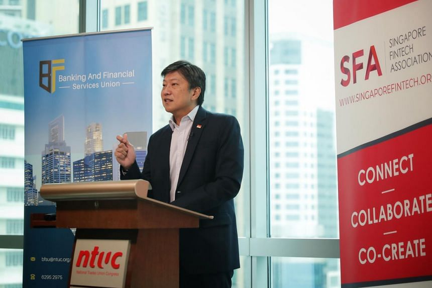 Labour chief Ng Chee Meng urged employers to invest in their workforce, redesign jobs where necessary and train workers.