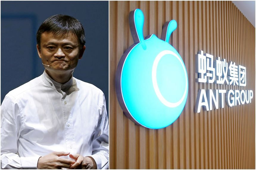 Mr Jack Ma's Ant Group had been set to go public in Hong Kong and Shanghai on Nov 5, 2020.