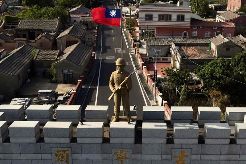 Beijing considers Taiwan a wayward province that it has vowed to bring under control, by force if necessary.