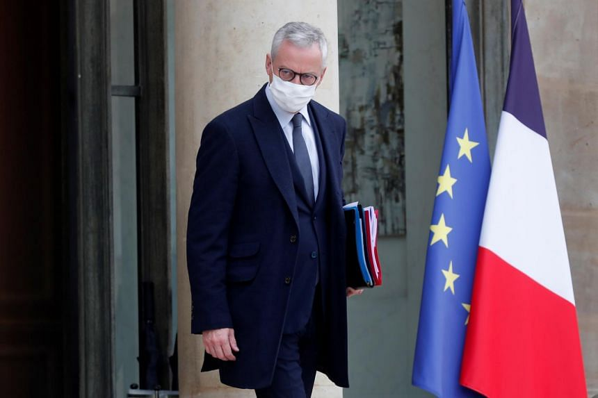 France's finance chief Bruno Le Maire said Europe is now merely an adjustment variable for the US.