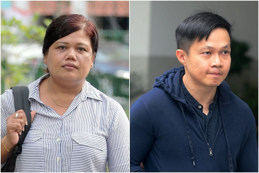 Mr Karl Liew (right) had made several allegations in the trial, involving his family's former maid Parti Liyani, that the High Court judge had found suspect
