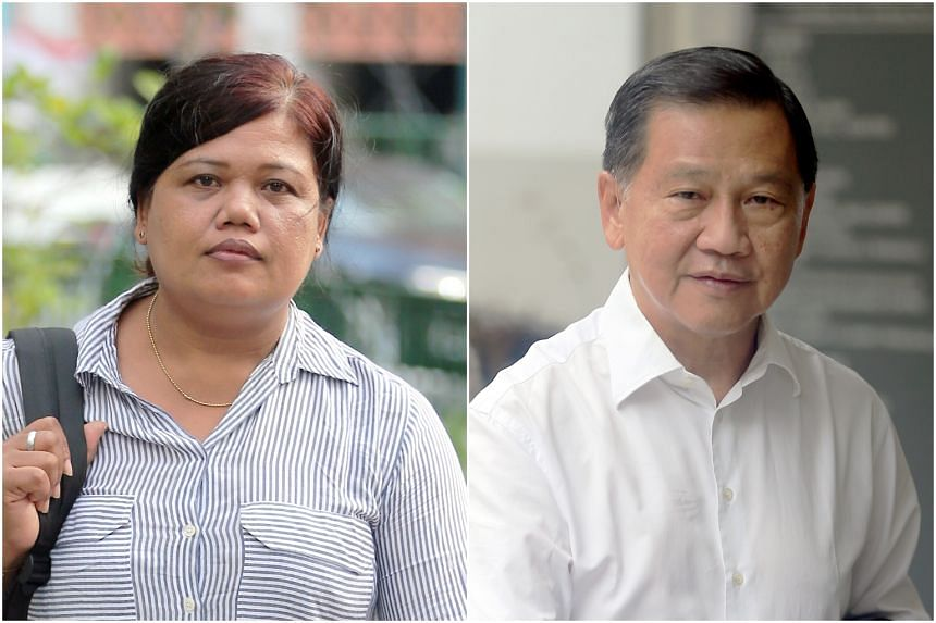 High Court Judge Chan Seng Onn said in his judgement that there was reasonable doubt about Mr Liew's (right) motive for making a police report against Ms Parti (left).