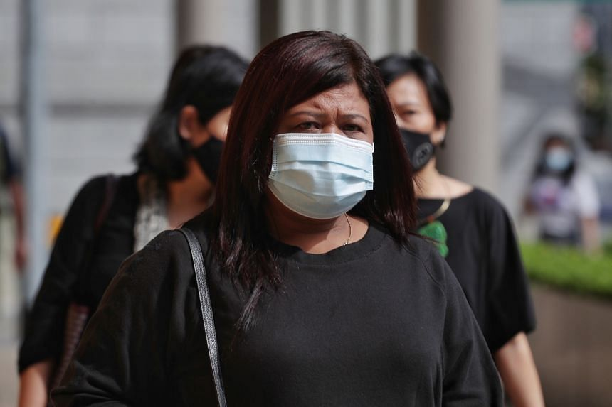 Home Affairs and Law Minister K. Shanmugam spoke at length in Parliament on the case involving Ms Parti Liyani (above).