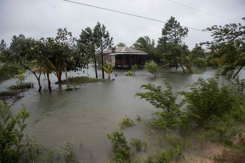 Hurricane Eta ploughed into Nicaragua as a Category 4 hurricane on the five-step Saffir-Simpson scale.