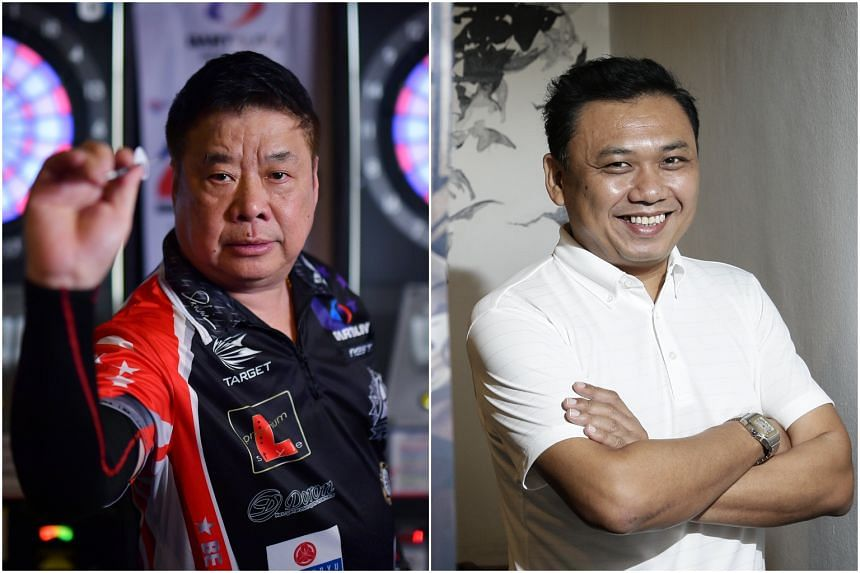 Paul Lim (left) and Harith Lim have competed at the annual tournament since 2014.