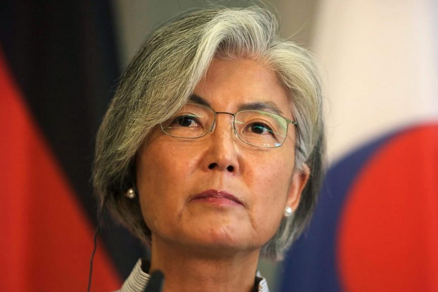 South Korea's foreign minister Kang Kyung-wha will arrive in Washington for a four day stay.