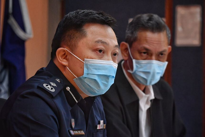 """Tanglin Police Division Commander Chong Chee Ming said that police """"will continue to pursue criminals vigorously and take necessary action, including the use of necessary force to apprehend criminals""""."""