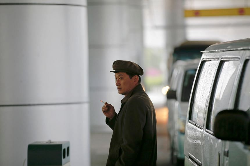 North Korea has high rates of smoking tobacco, with 43.9 per cent of the male population smokers as of 2013.