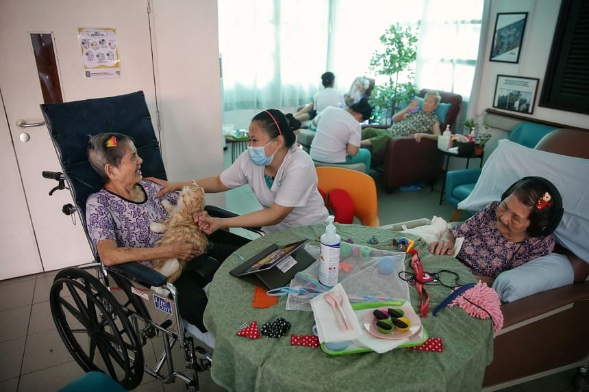 All nursing home staff and residents in Singapore underwent one round of mass testing in May as a precautionary measure.