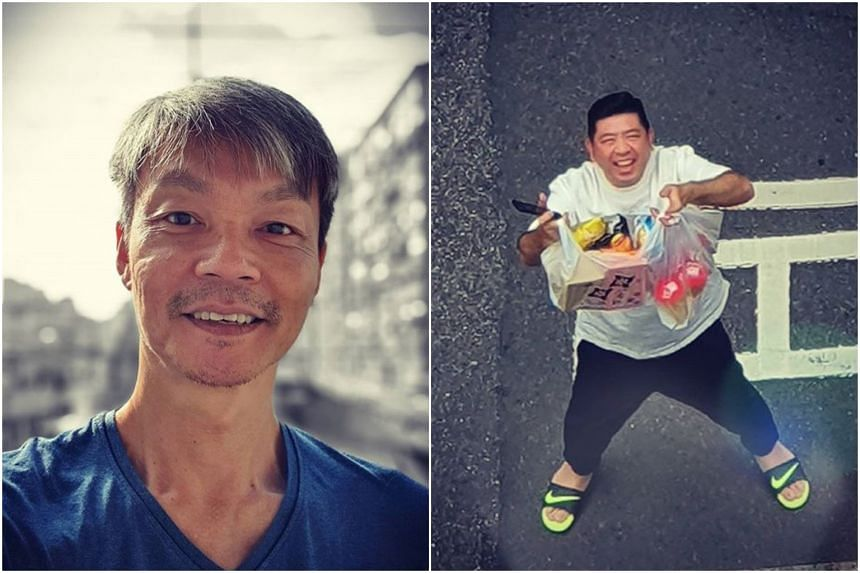 Singapore actor Mark Lee posted a thank-you note to Taiwanese comedian Nono for bringing him food.