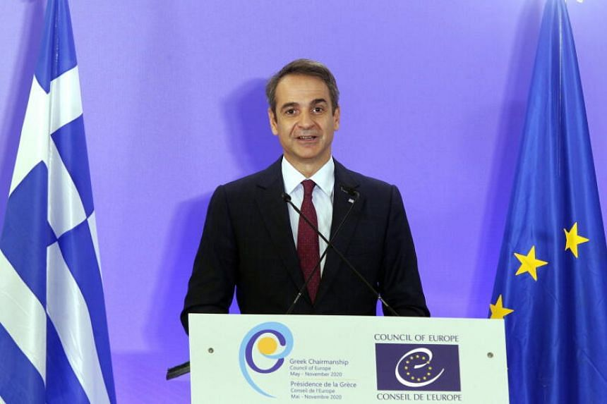 Greek Prime Minister Kyriakos Mitsotakis said the new restrictions will come into effect on Nov 7.