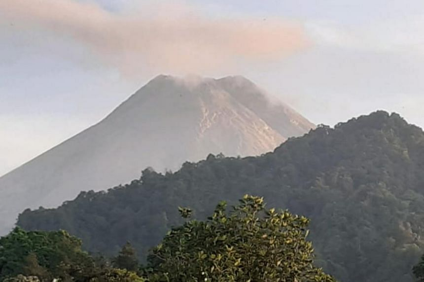 The volcano's status has been increased to siaga (watch), or level three of the country's four-tiered alert system.