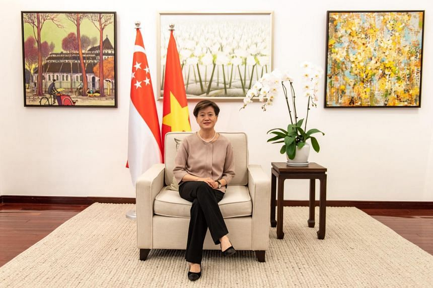 Ambassador to Vietnam Catherine Wong said Singapore is the third largest foreign direct investor in the country.