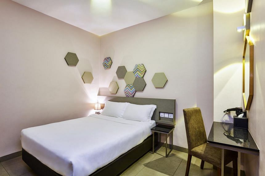 Rebranded from budget chain Fragrance Hotel last year, Ibis Budget Singapore Imperial in Lavender has gotten a modern facelift.