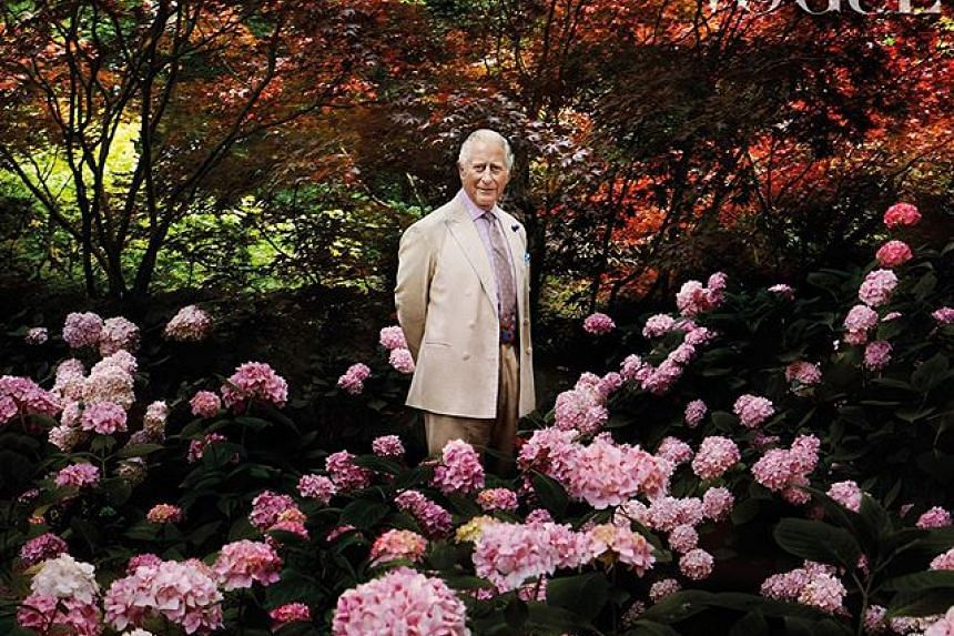 Britain's Prince Charles was interviewed for Vogue about his commitment to sustainable fashion.