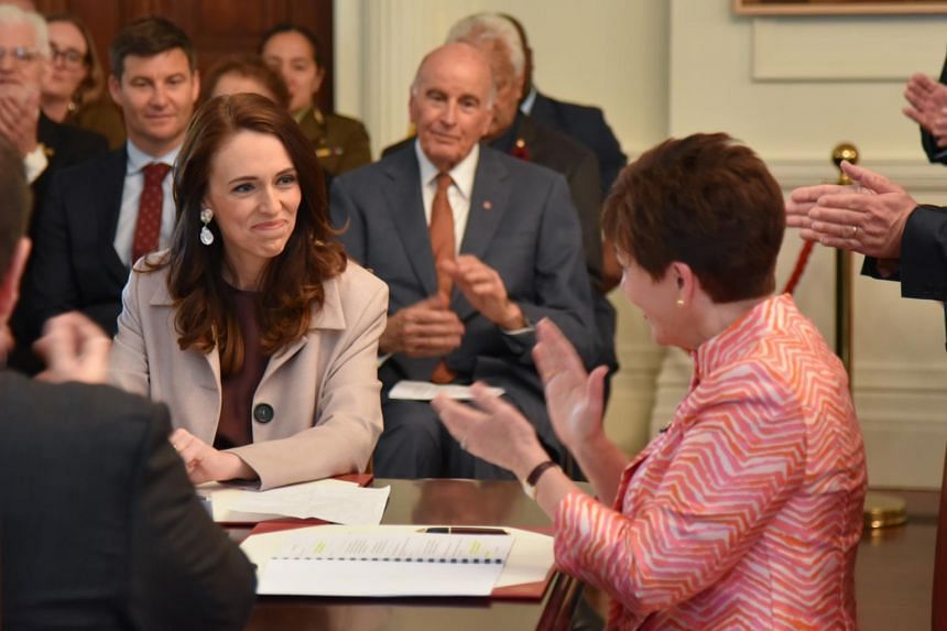 Ms Jacinda Ardern said her priorities were containing Covid-19 and rebuilding the virus-damaged economy.
