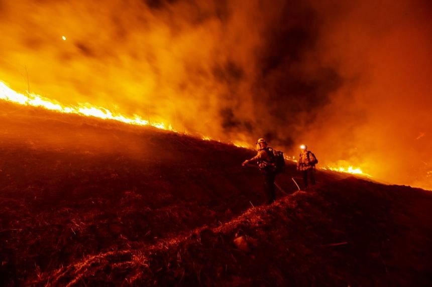 California fires have scorched over 1.6 million hectares since the start of 2020, exceeding any single year in state history.