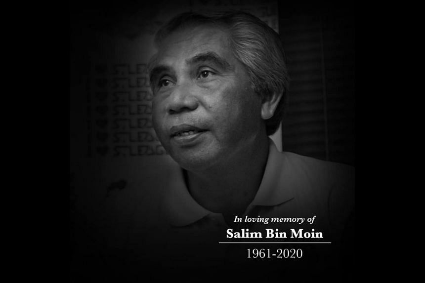 Salim Moin played for the national team in the 1980s and 1990s.