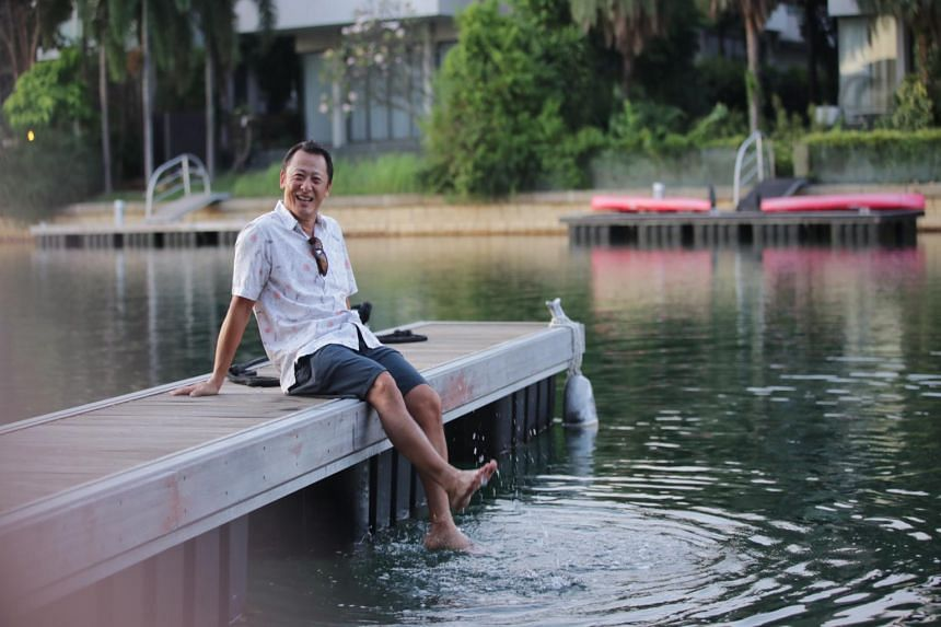 Mr Alec Wing bought a first-floor unit at The Berth by the Cove for about $900 to $1,000 per square foot, barely a week after viewing the show-flat in 2004. He rents out his unit as his wife and children are living overseas.