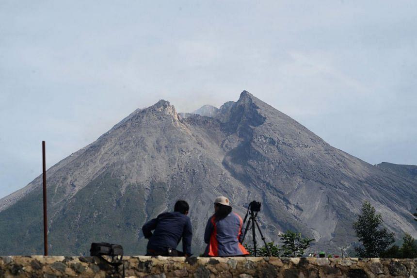 Mount Merapi's last major eruption in 2010 killed more than 300 people.