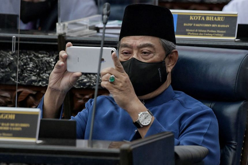 Tan Sri Muhyiddin (above) is also thinking about inviting the opposition to sit in on some government meetings.