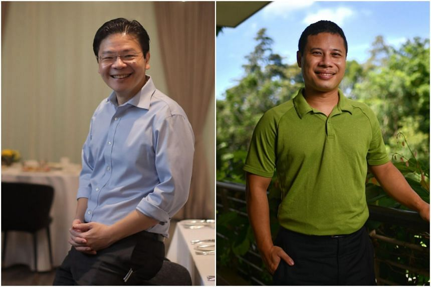 Ministers Lawrence Wong (left) and Desmond Lee have been elected to PAP's highest decision-making body for the first time.