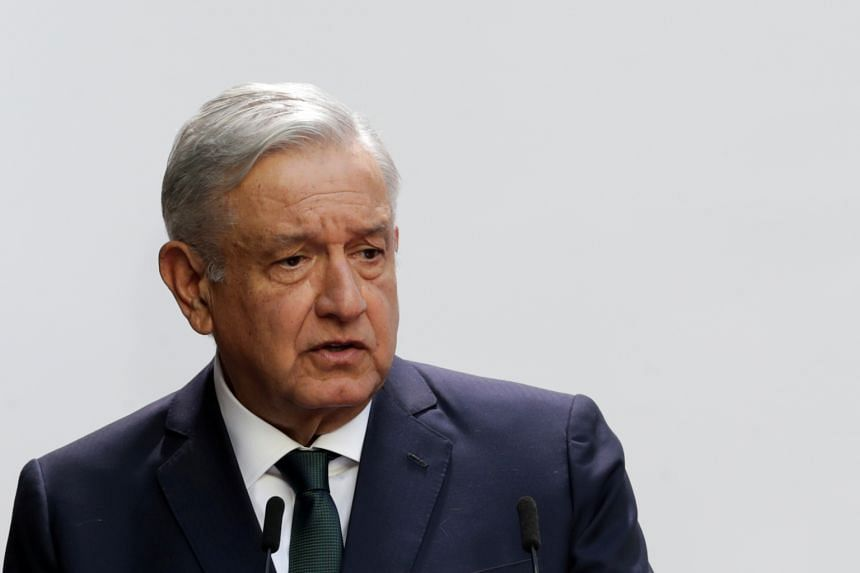 The Mexican President linked his caution to his own allegations of fraud in two presidential elections he contested.