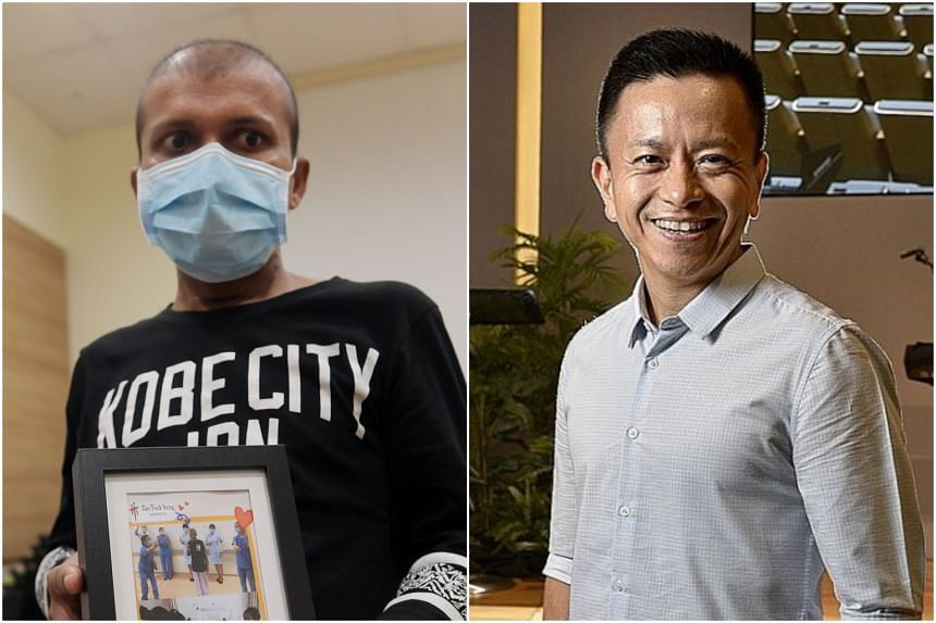 Mr Raju Sarker (left), part of the Seletar Aerospace Heights construction site cluster, and the Reverend Wilson Teo, part of the Grace Assembly of God church cluster, were found to have been infected by the same clade, or branch, of the coronavirus.