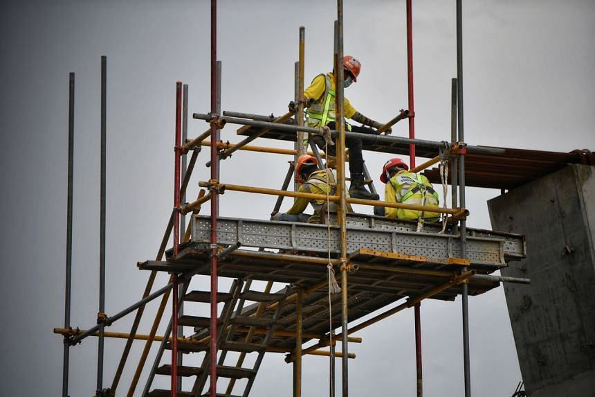Construction firms said the shortage of workers has led to an increase in subcontractor labour costs by about 20 to 30 per cent.