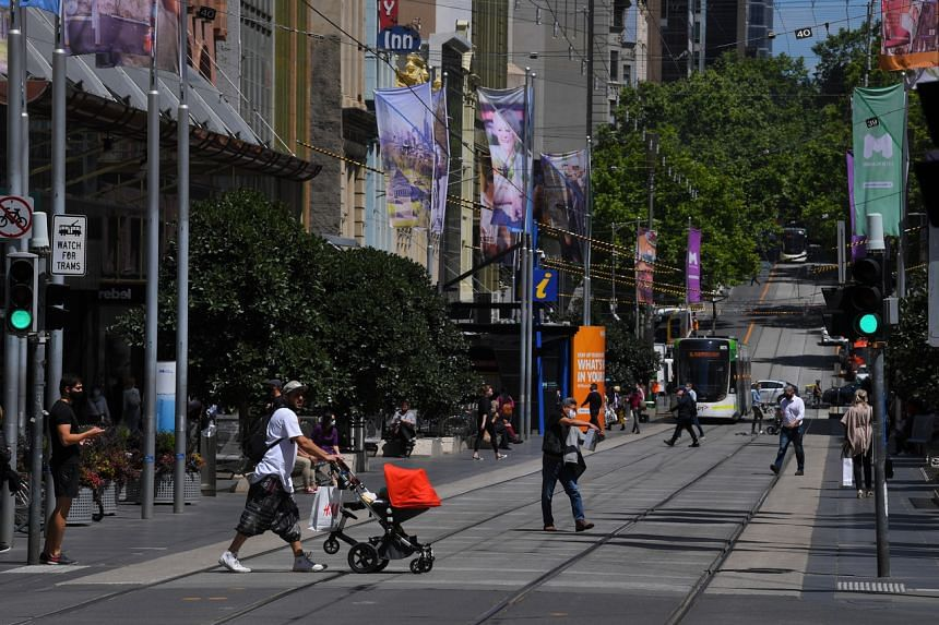 Australia's government estimates that 1,200 jobs have been lost on average a day across Victoria state.