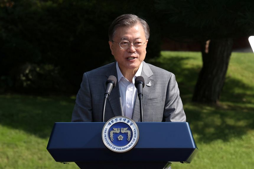 South Korea's President Moon Jae-in noted that the country's alliance with the US is strong.