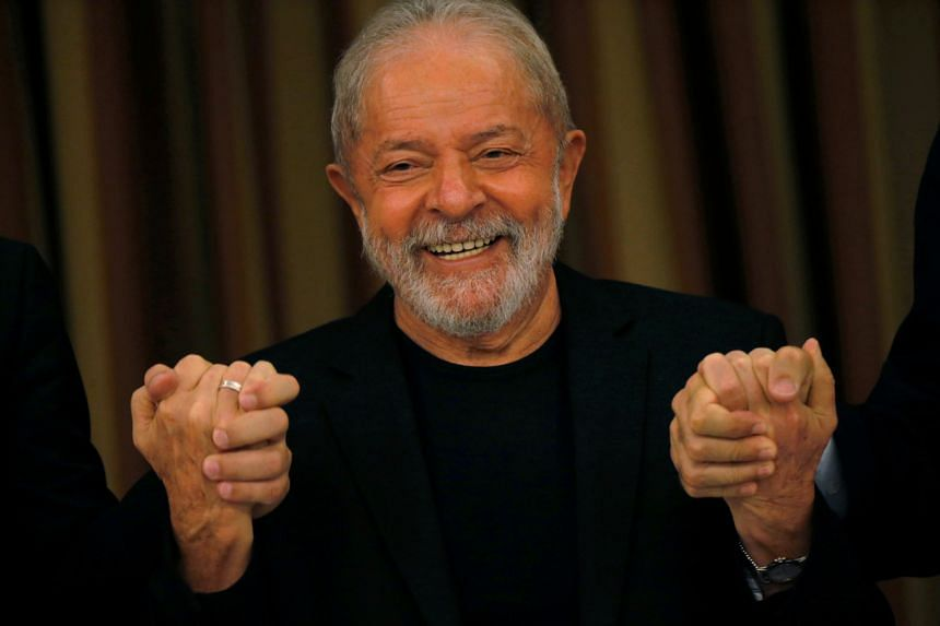 """Mr Lula, a hero of the Latin American left during his presidency (2003-2010), said Americans had voted """"against Trumpism and all it stands for""""."""