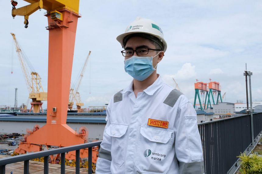 Mr Steven Lee went through a professional conversion programme for marine engineers in 2018.