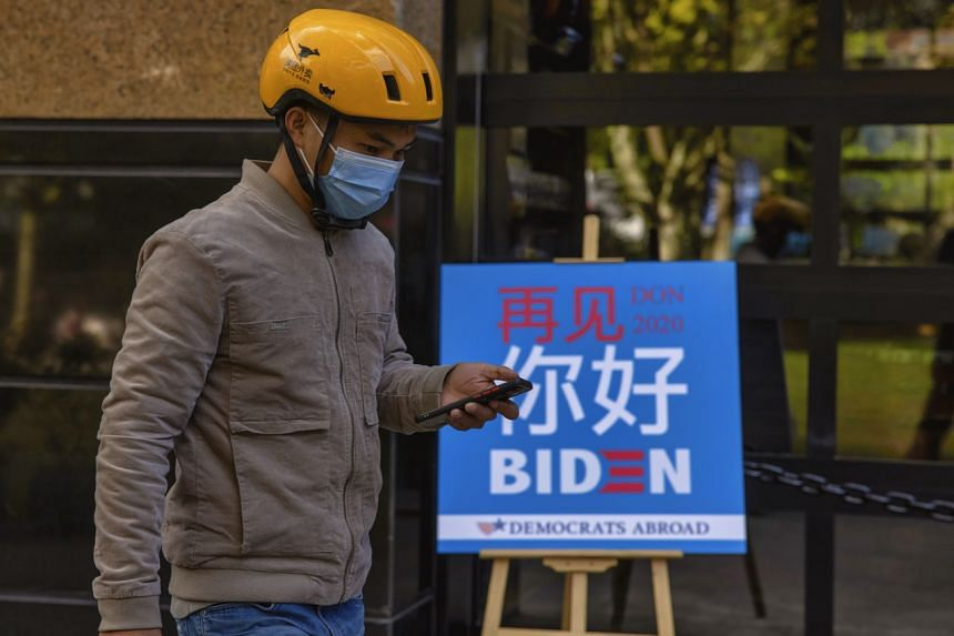 State-backed newspaper Global Times said Beijing should work to communicate with the Biden team as thoroughly as it can.