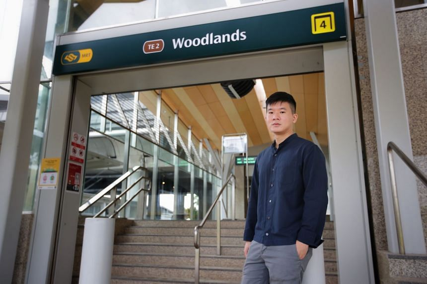 Mr Samuel Lim was part of a Land Transport Authority team that redesigned MRT station signage, which is now used at three stations on the Thomson-East Coast Line.