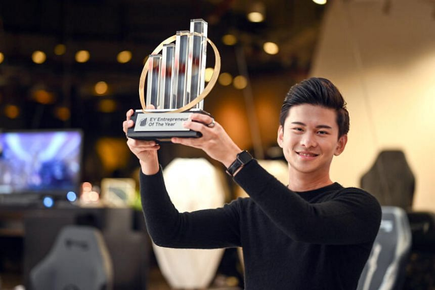 Secretlab co-founder Mr Ian Ang was also named EY Entrepreneur of the Year for consumer products on Nov 9.